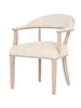 Anson Accent Chair - Bisque French Linen