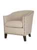 Swiss Club Chair - Birch Fabric
