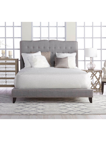 Avenue Bed - Smoke Fabric - California King