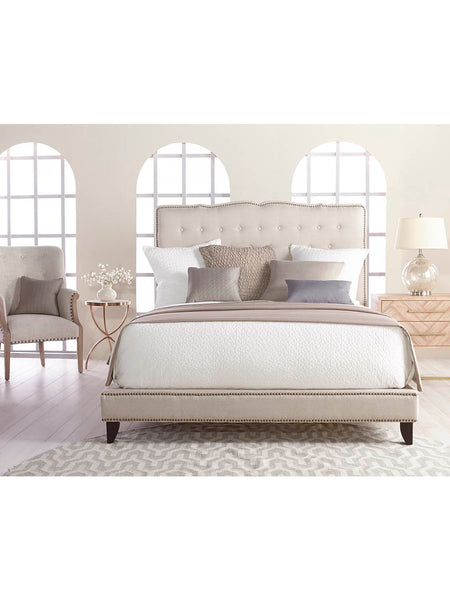 Avenue Bed - Oatmeal Linen - Queen