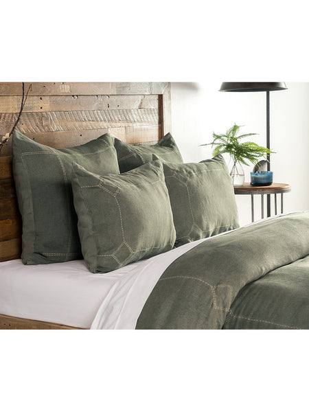 Heirloom Linen Duvet Collection - Vine - Queen