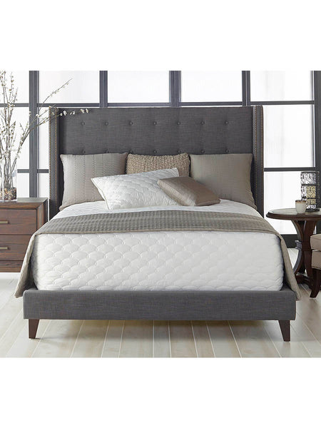 Brandt Bed - California King - Sepia Fabric