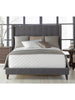 Brandt Bed - Queen - Sepia Fabric