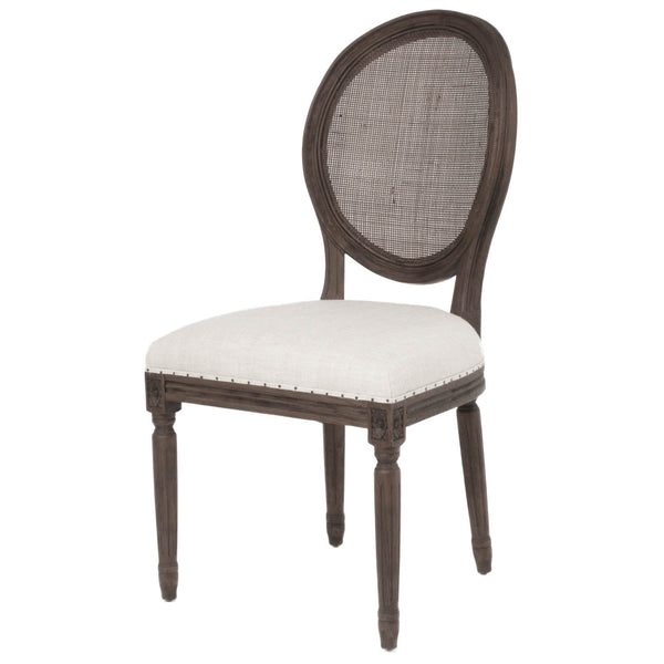 Christopher Oak Mesh Back Dining Chair - Java