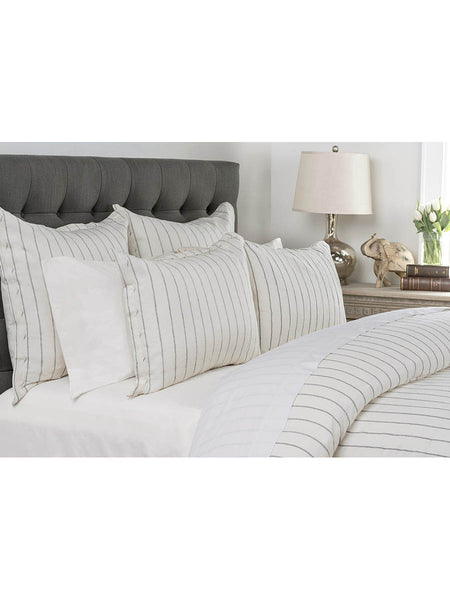 Monaco Duvet Collection - Ivory - Queen