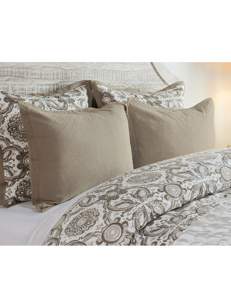 Resort Printed Duvet Collection - Desert - King
