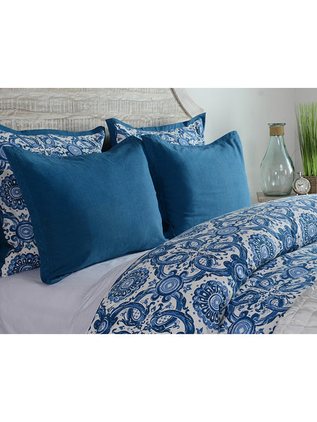 Resort Printed Duvet Collection - Marine - Full