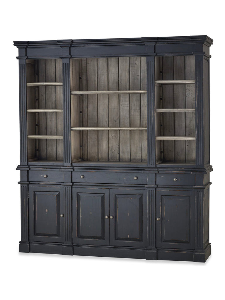 Roosevelt 79 Quot Mahogany Estate Bookcase Black Harvest