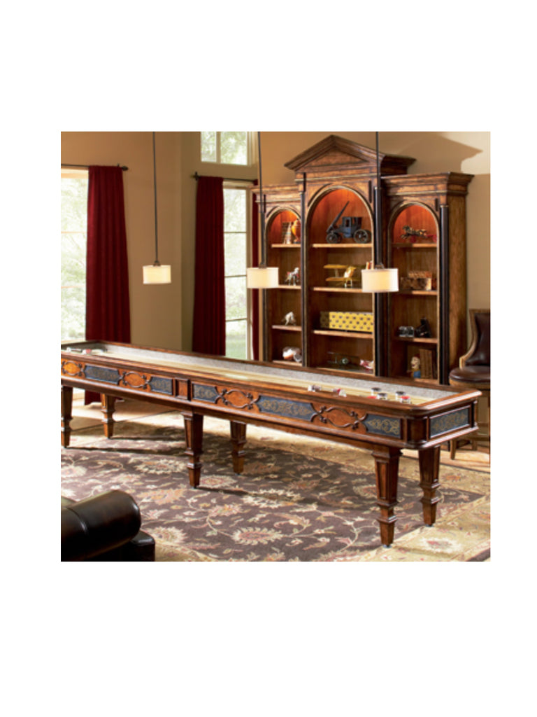 Ordinaire Elegant Scroll 14u0027 Shuffleboard Table