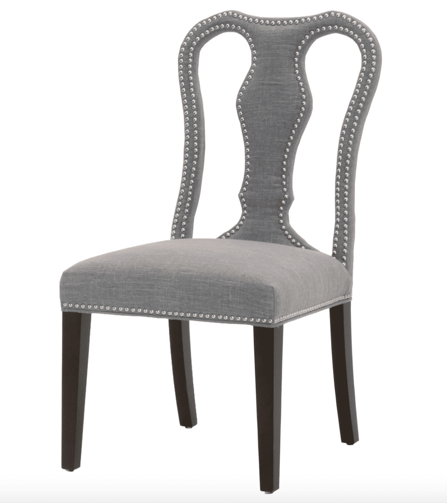 Anastasia Dining Chair - Smoke Fabric