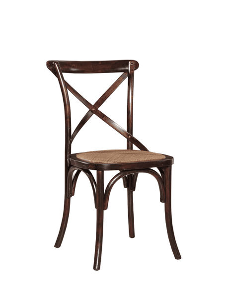 Carol Birch Side Chair - Burnished Brown