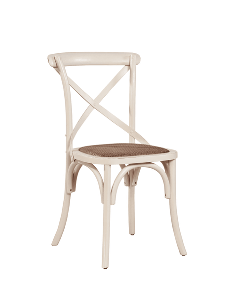 Carol Birch Side Chair - Antique White