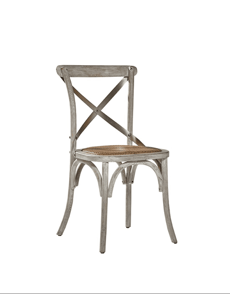 Carol Birch Side Chair - Gray Driftwood
