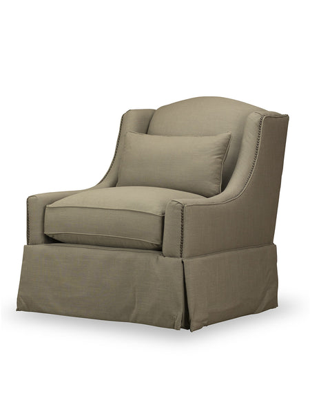 Hansen Swivel Chair - Taupe