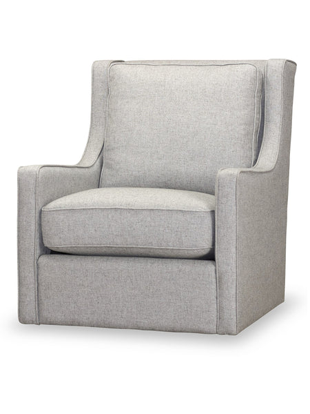 Carver Swivel Chair - Stone