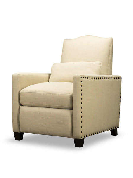 Brock Pushback Recliner - Beach