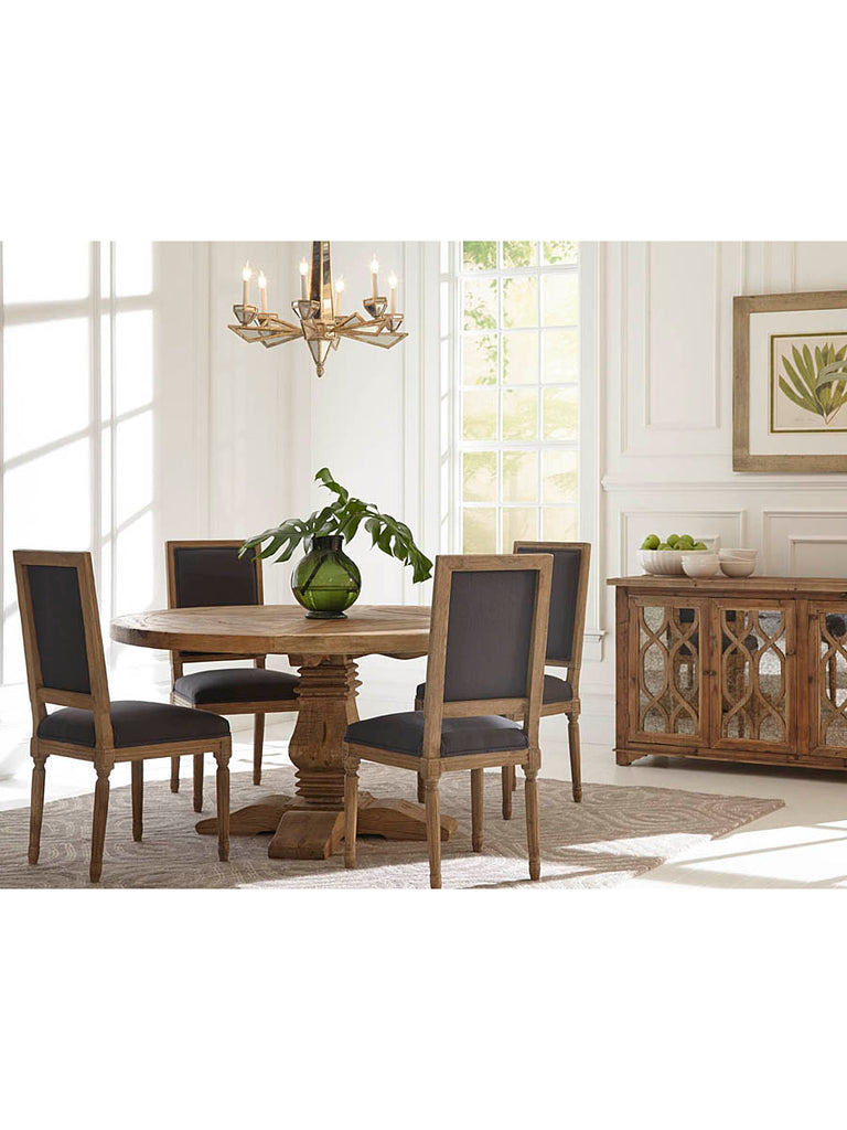 Old World 60 Round Dining Table Vintage Home Charlotte