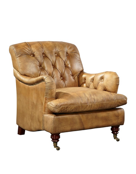 Brutus Leather Arm Chair