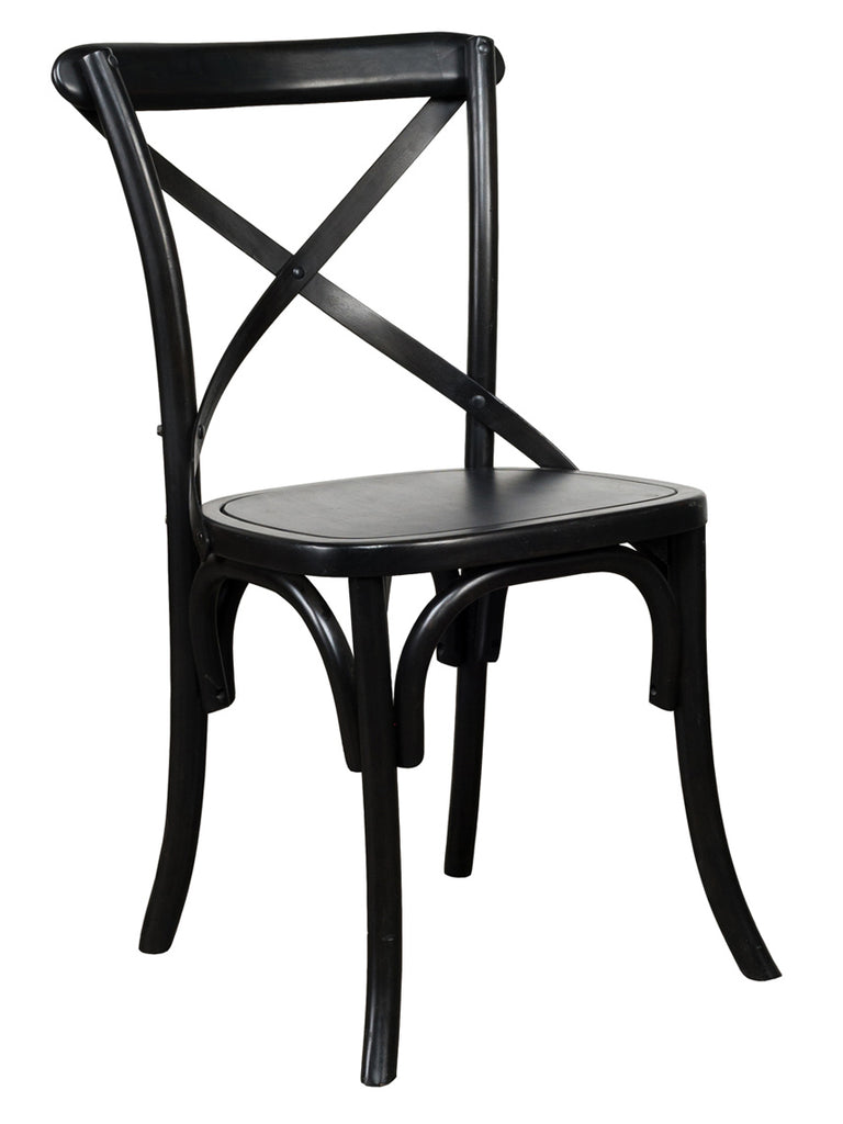 Amera X-Back Chair - Black