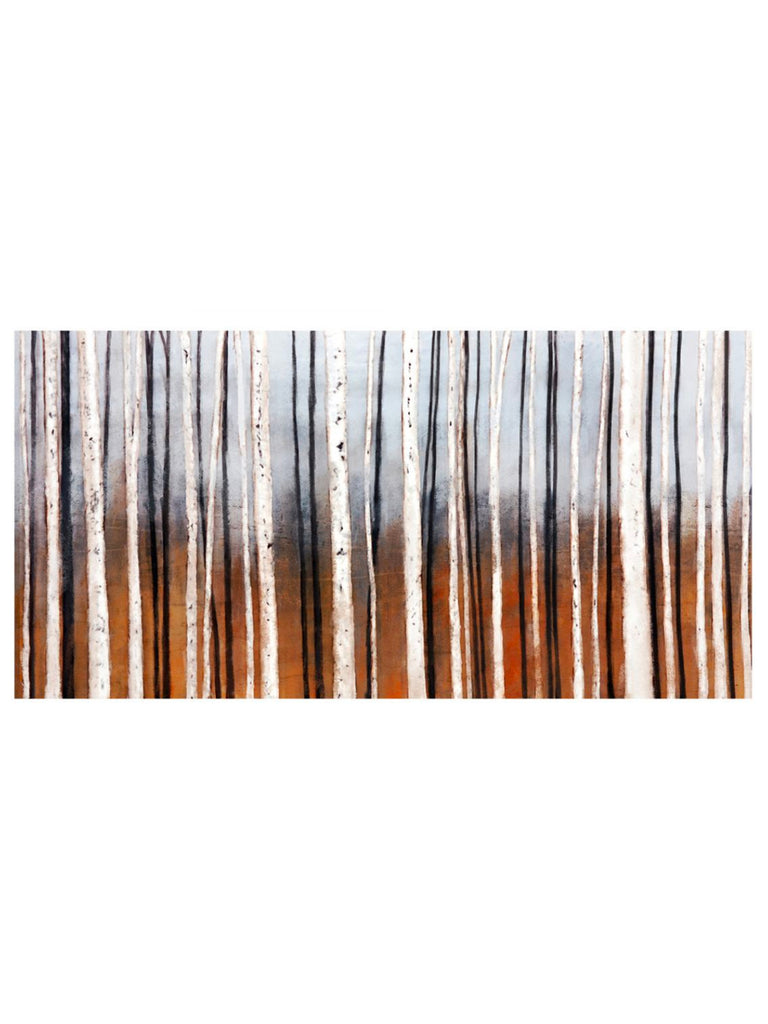 Birch Trees Hand Painted 70