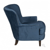 Ellicott Club Chair - Yale Blue