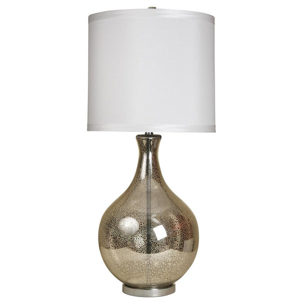 Classical Urn Mercury Glass Table Lamp