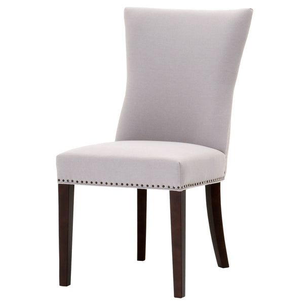 Ava Dining Chair - Light Gray Fabric