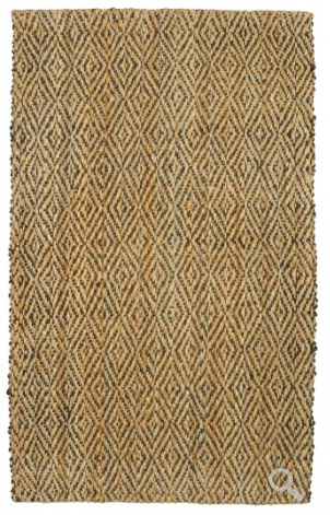 Diamond 5x8 Area Rug - Chocolate/Natural