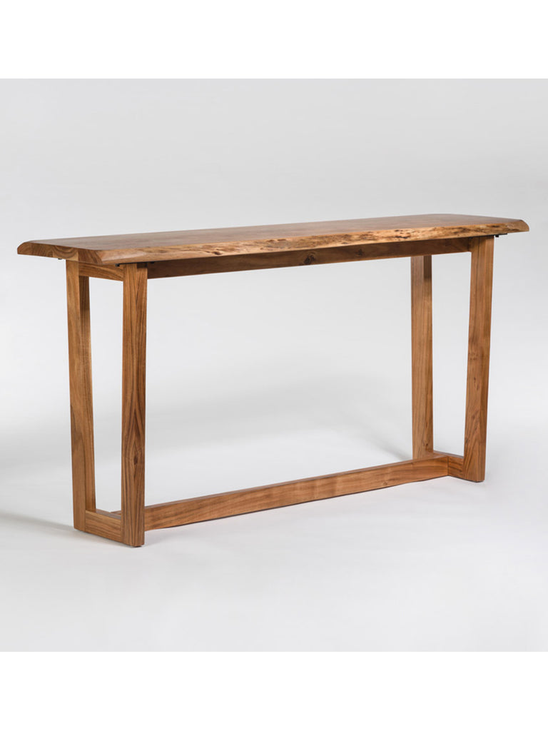 live edge console table Telluride 72