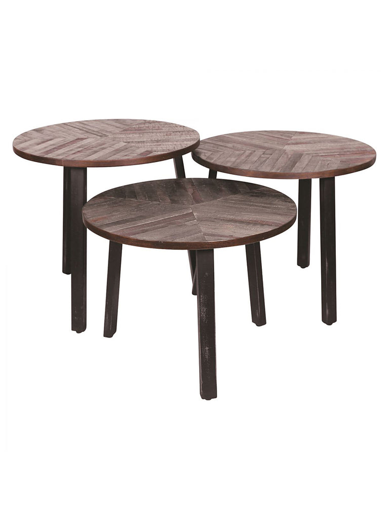 Three Leaves Accent Tables - Set of 3 – Vintage Home Charlotte