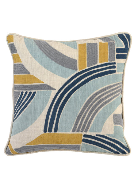Cleo 18x18 Pillow - Tidal
