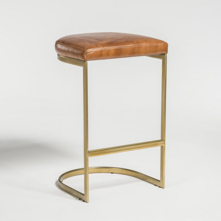 Santa Ana Leather Counter Stool