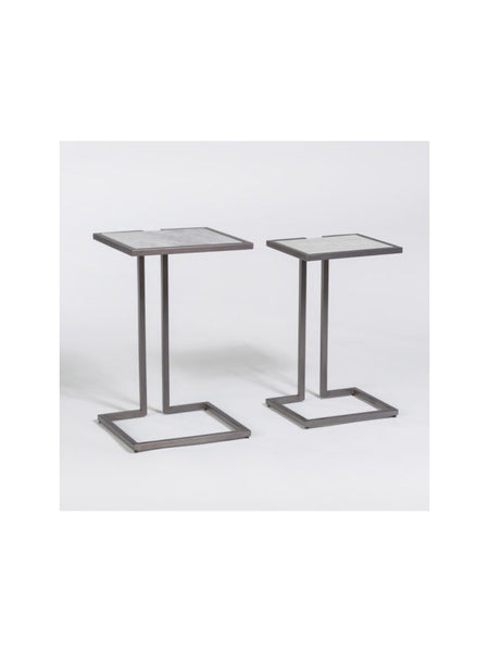 Yonkers Marble Nesting Tables - Set of 2