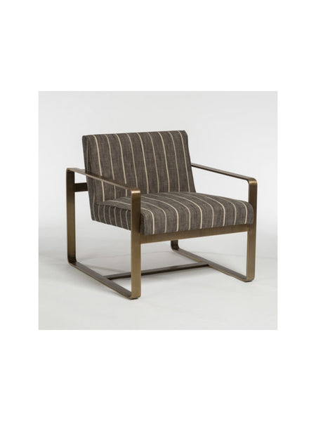 Kingdom Occasional Chair - Revere Dusk + Brass