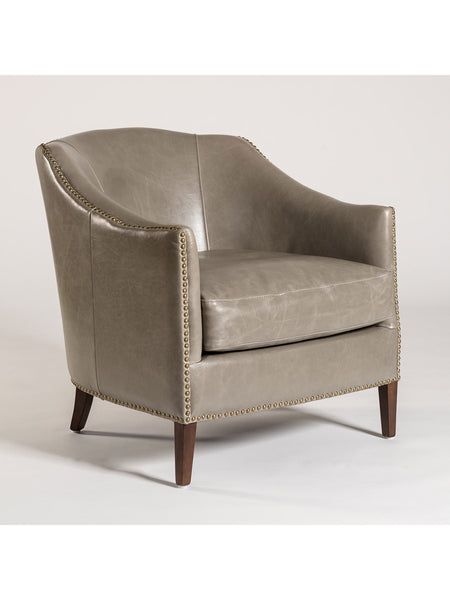 Essex Occasional Chair - London Fog Leather