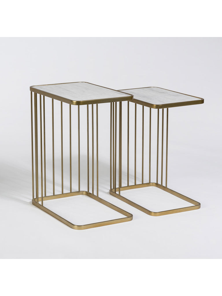 Exeter Retro Nesting Tables Set Of 2 Vintage Home