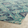 Weatherman Area Rug - Teal 03-91