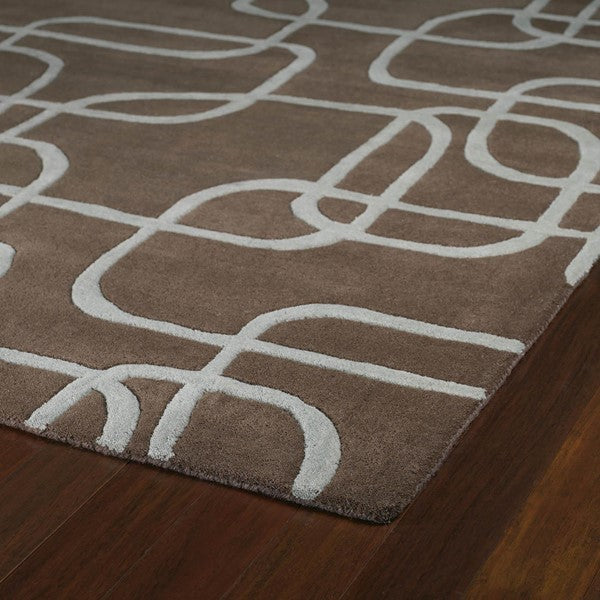 Astrological Area Rug - Brown