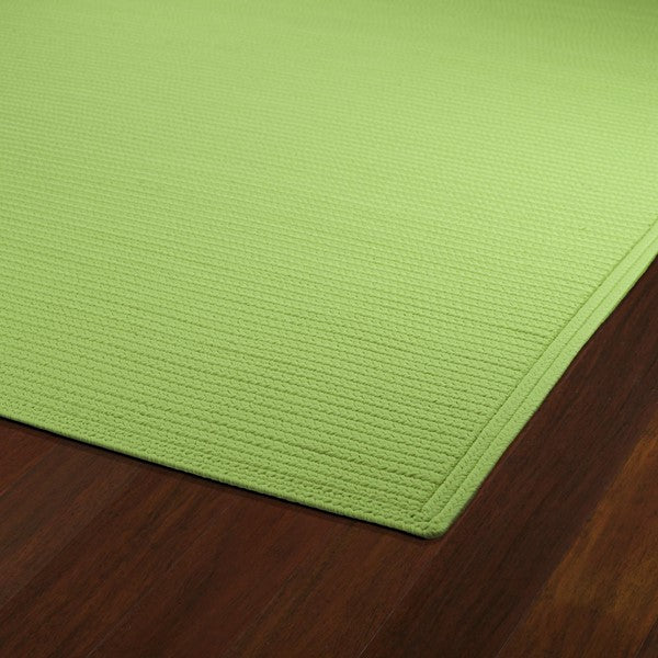 Beach Area Rug - Lime Green