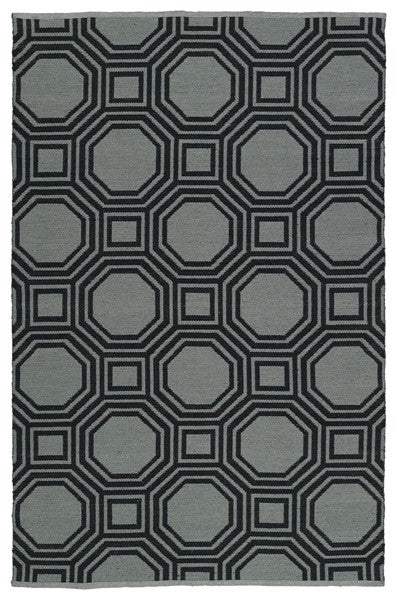 Bermuda Area Rug - Black 06-02