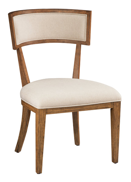 Davidson Side Dining Chair - Light Linen