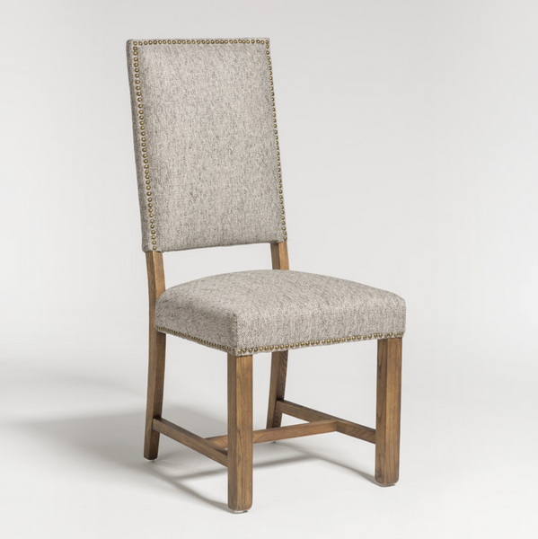 Westchester Dining Chair - Diamond Pepper + Weathered Oak