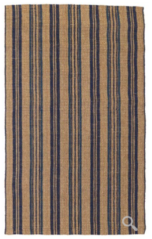 Seagrass Cabana Area Rug - Stripe Navy