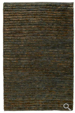Soumak Sheared Area Rug - Ombre Blue/Brown