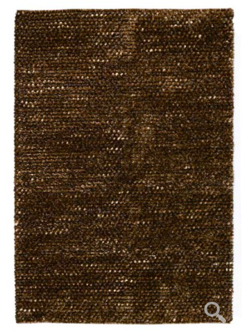 Pebble Shag Area Rug - Brown