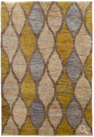 Melbourne Area Rug - Gray/Gold