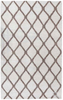 Mia Wool Area Rug - Mocha/Cream
