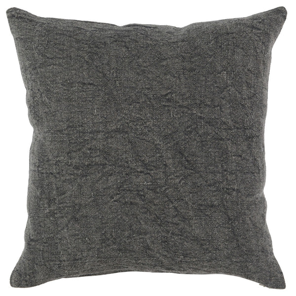 Chateau 22x22 Pillow - Charcoal