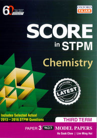 Score in STPM Model Papers (Chemistry - Paper 3) Third Term