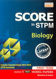 Score in STPM Model Papers (Biology - Paper 1) First Term